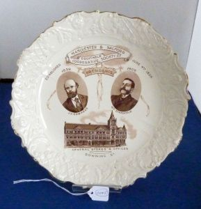 Manchester and Salford Co-operative Society plate